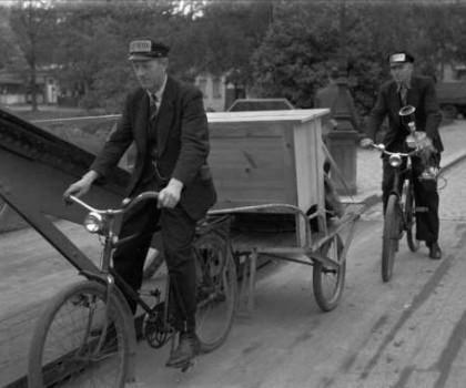 Flyttning med cykel